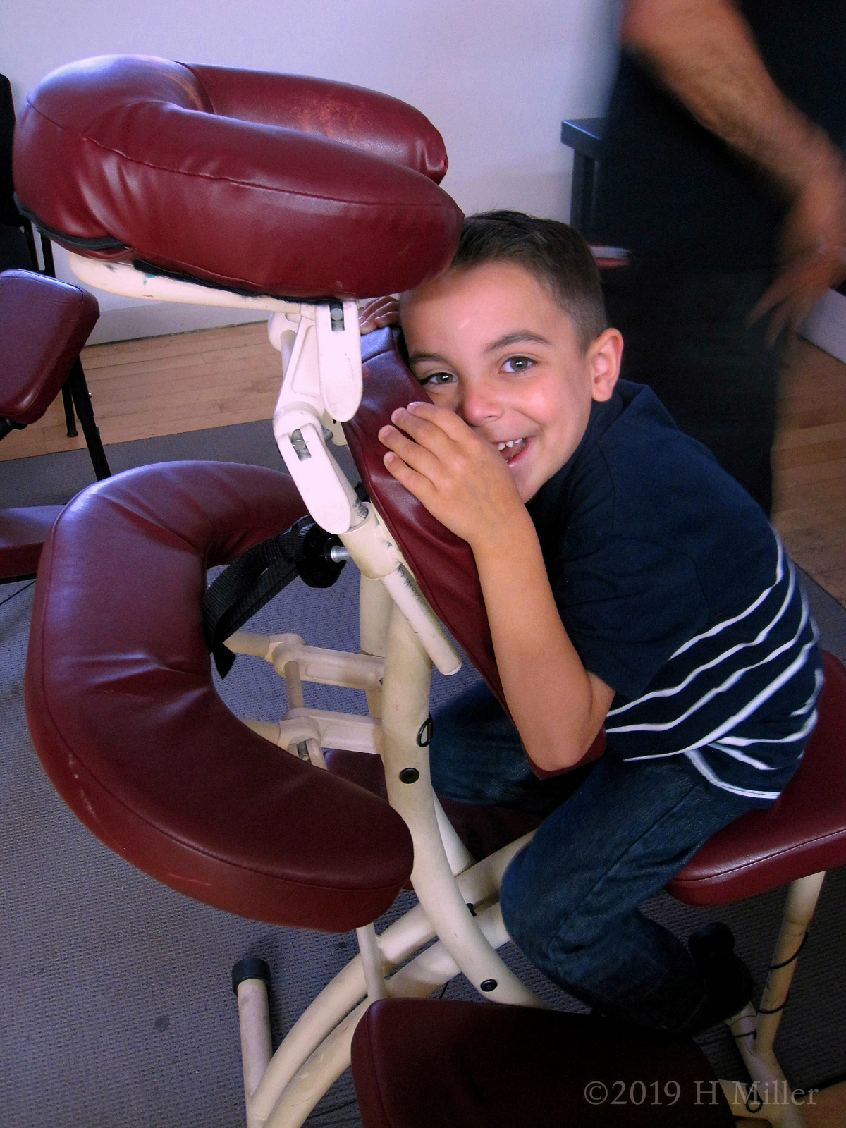 Chair Massage At Flat Rate Featured Children Participating In The Fun