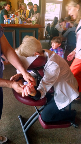 Chair Massage For People Of All Ages At The Country Club