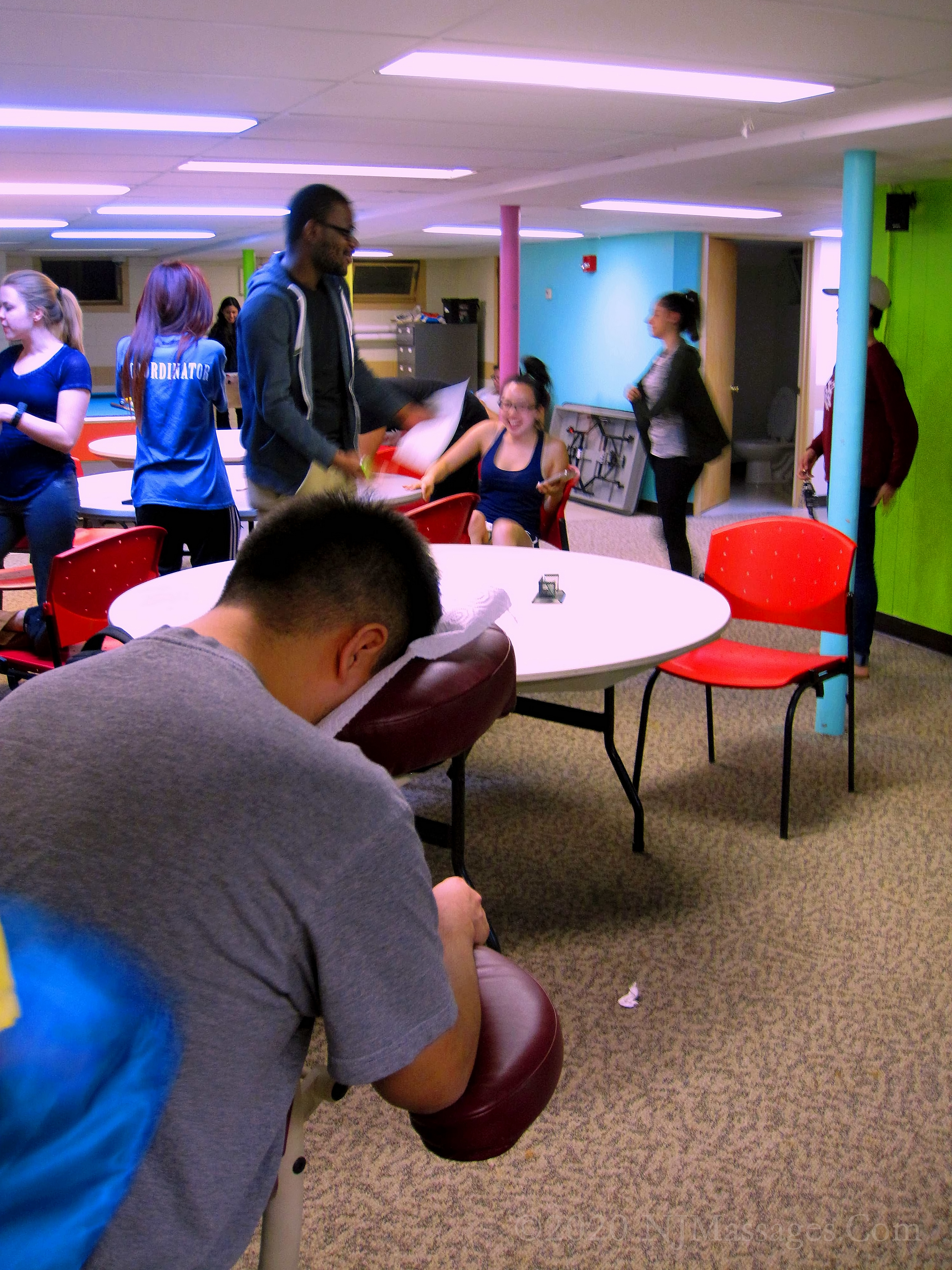 Chair Massage For Student Appreciation And Other Student Events